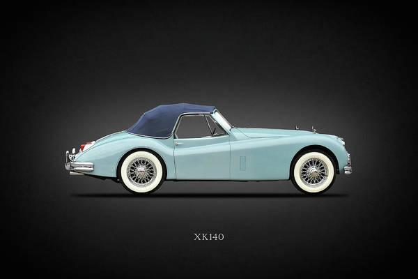 Wall Art - Photograph - Jaguar Xk140 by Mark Rogan