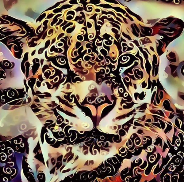 Daylight Digital Art - Jaguar by Yury Malkov