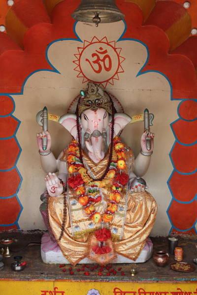 Wall Art - Photograph - Jai Ganesha, Rishikesh by Jennifer Mazzucco