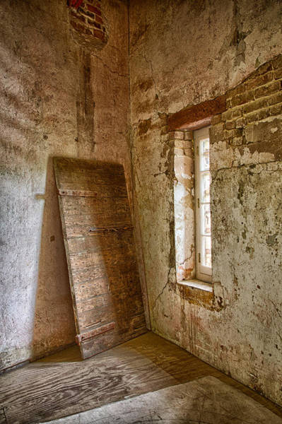 Photograph - Jail House Wall by Patricia Schaefer