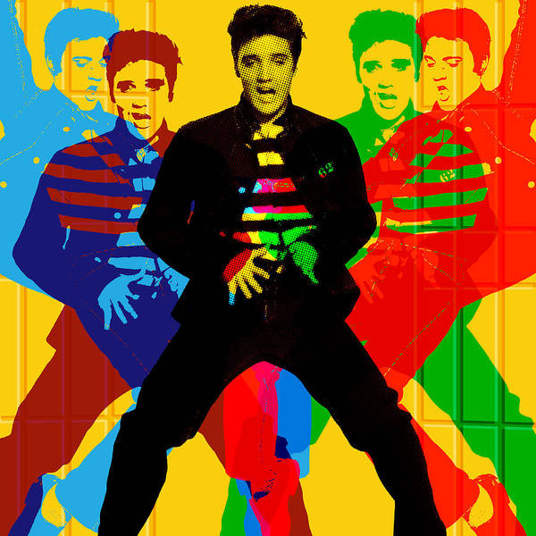 Digital Art - Jailhouse Rock by Gary Grayson