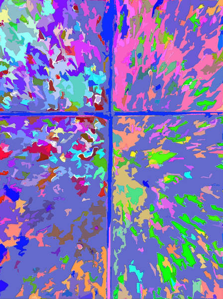 Digital Art - J'aime 5 by Payet Emmanuel