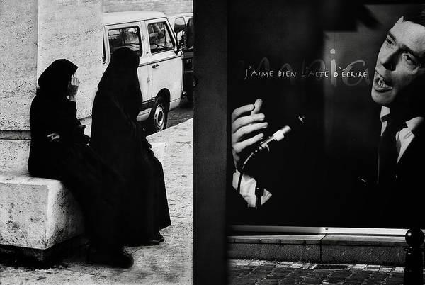 Jacques Photograph - J'aime L'acte D'a?crire (ou De Dessiner) by Yvette Depaepe