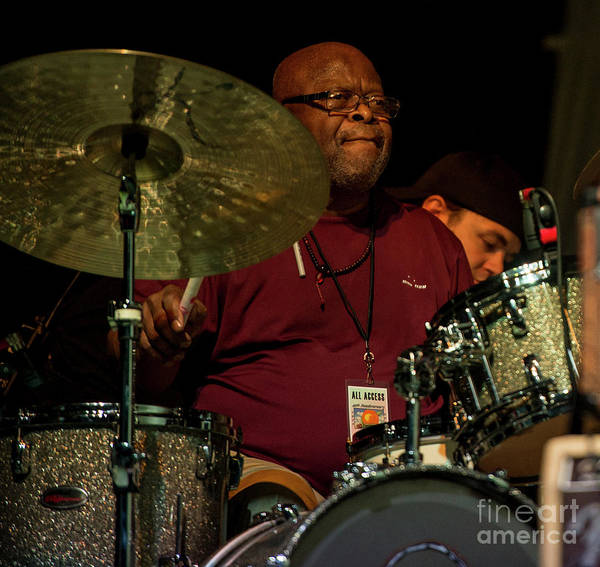 Allman Brothers Band Photograph - Jaimoe With The Allman Brothers Band by David Oppenheimer