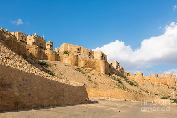 Photograph - Jaisalmer Fortress In Rajasthan by Didier Marti