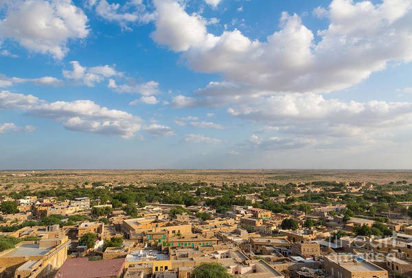 Photograph - Jaisalmer Town In Rajasthan by Didier Marti
