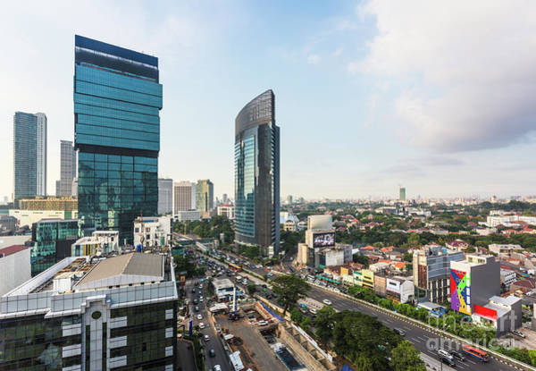 Photograph - Jakarta Business District.  by Didier Marti