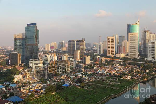 Photograph - Jakarta Urban Skyline In Indonesia by Didier Marti