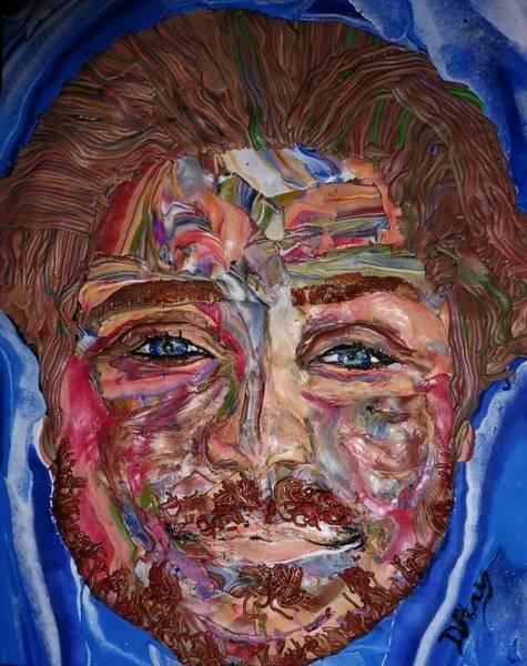Mixed Media - Jakob by Deborah Stanley