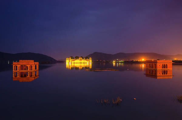 Wall Art - Photograph - Jal Mahal by Aaron Bedell