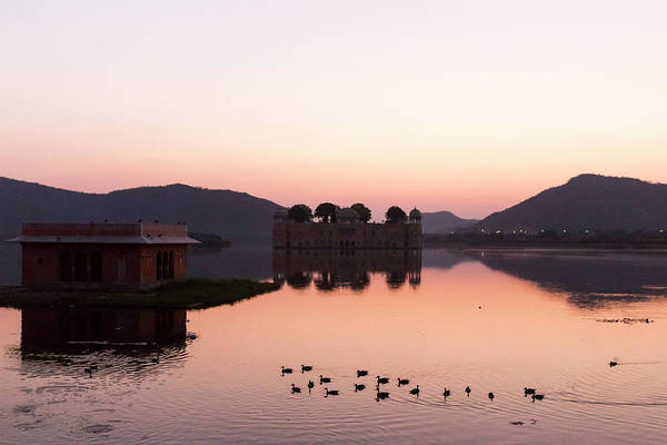 Photograph - Jal Mahal, Jaipur, India by Mahesh Balasubramanian