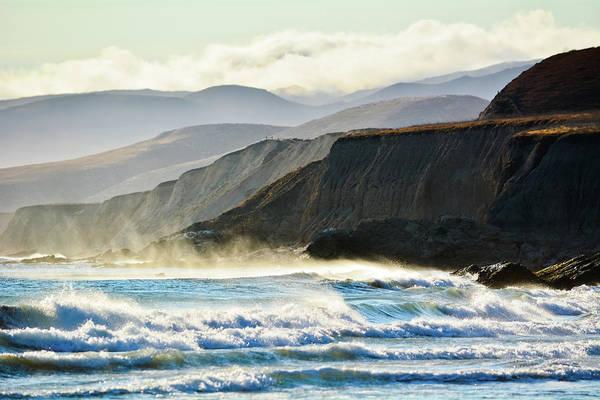 Photograph - Jalama Beach Rugged Coastline by Kyle Hanson