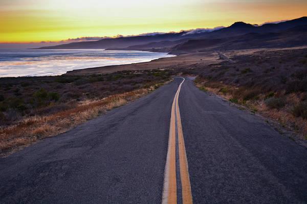 Photograph - Jalama Beach Santa Barbara Sunset by Kyle Hanson