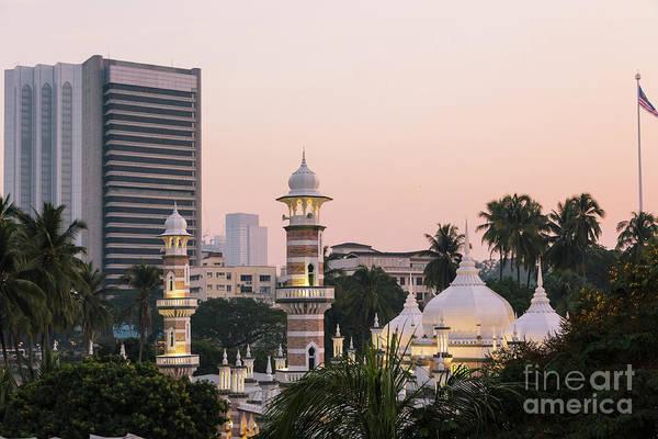 Photograph - Jama Masjid In Kuala Lumpur by Didier Marti