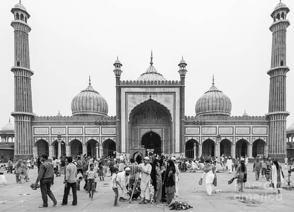 Photograph - Jama Masjid In Old Delhi In India by Didier Marti