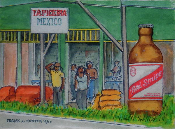 Painting - Jamaica And Mexico In Costa Rica by Frank Hunter
