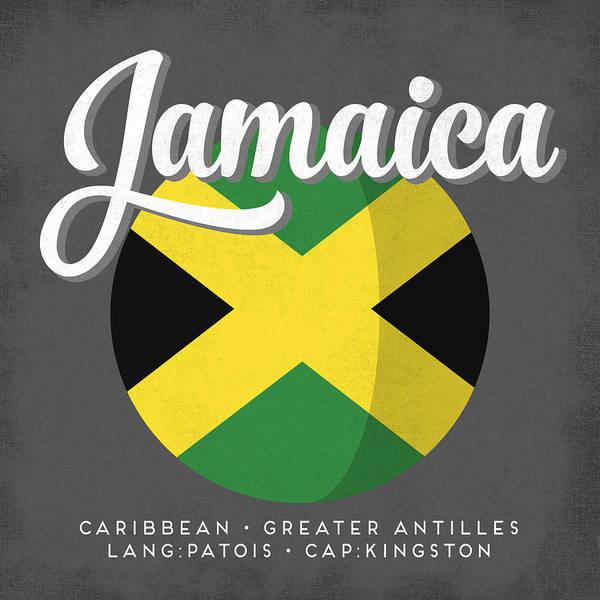 Jamaica Digital Art - Jamaica Defined by Flo Karp