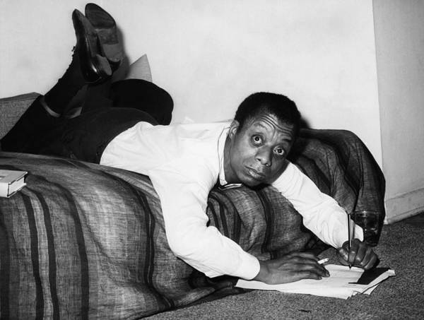 Bed Photograph - James Baldwin, 1963 by Everett
