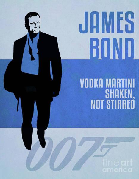 Casino Royale Digital Art - James Bond Minimalist Movie Quote Poster Art 2 by Nishanth Gopinathan