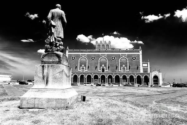 Photograph - James Bradley Statue by John Rizzuto