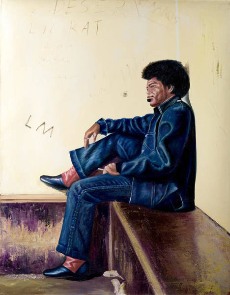 Rockstar Painting - James Brown by Jocelyn Passeron