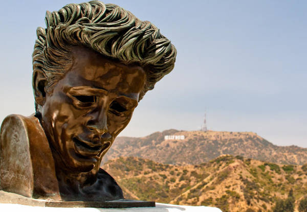 Wall Art - Photograph - James Dean - Griffith Observatory by Natasha Bishop