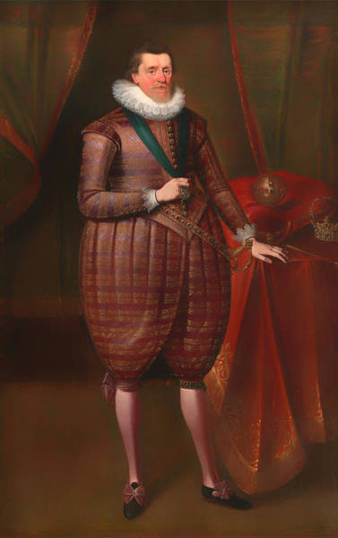 I Dream Painting - James I Of England by Mountain Dreams