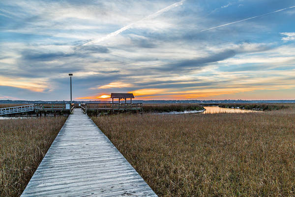 Photograph - James Island County Park Dock by Donnie Whitaker