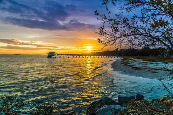James Island Sunrise - Melton Peter Demetre Park Art Print