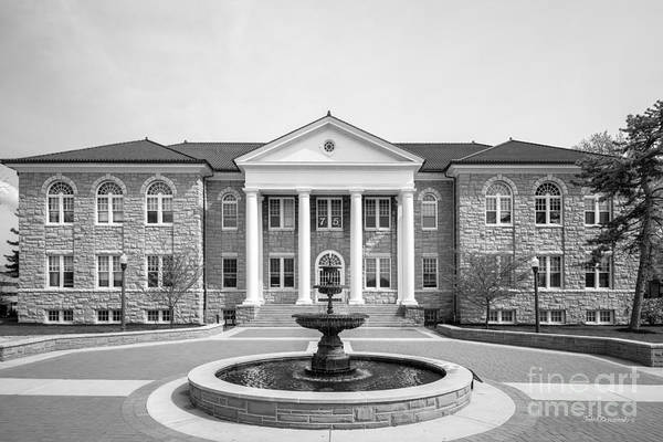 Photograph - James Madison University Carrier Library by University Icons