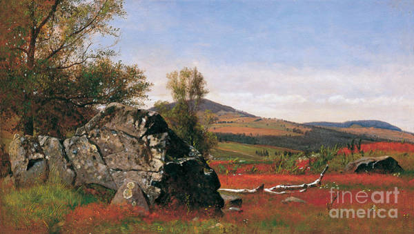 Catskills Painting - James Mcdougal Hart by MotionAge Designs