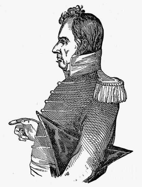 Epaulette Photograph - James Miller (1775-1851) by Granger