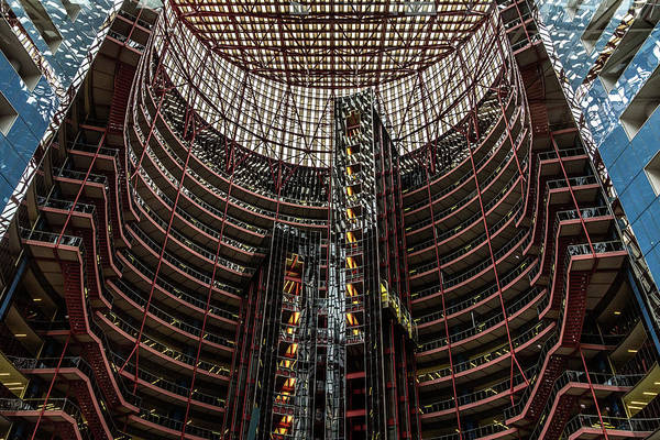 Photograph - James R. Thompson Center by Randy Scherkenbach