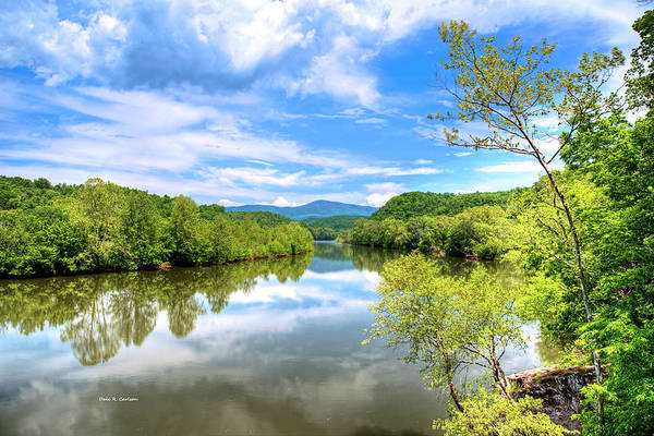 Photograph - James River Reflections by Dale R Carlson
