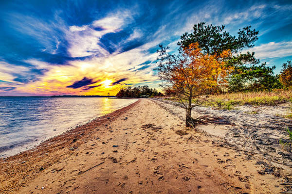 Photograph - James River Sunset by Pete Federico