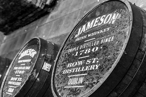 Photograph - Jameson Barrel Tops by Georgia Fowler