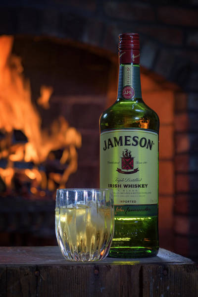 Berk Wall Art - Photograph - Jameson By The Fire by Rick Berk