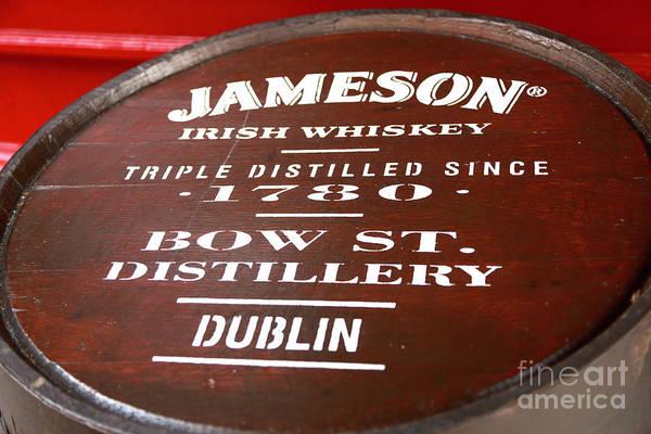 Irish Whiskey Photograph - Jameson Dublin by John Rizzuto