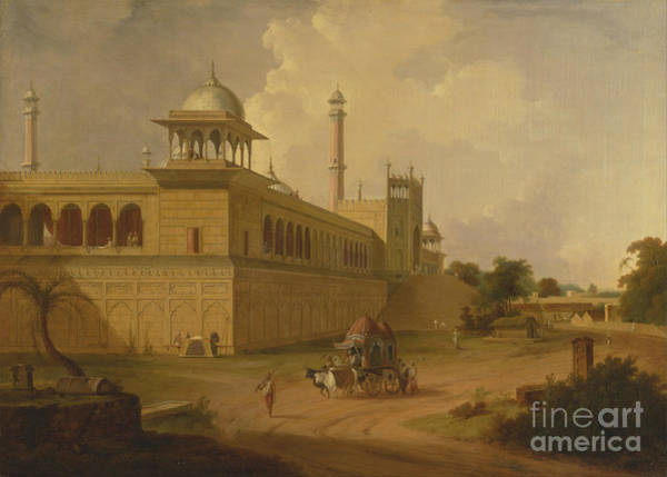 Painting - Jami Masjid Delhi by Celestial Images