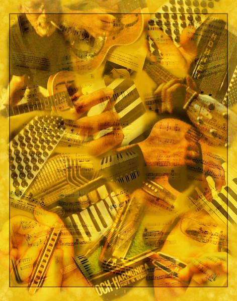 Harmonica Photograph - Jammin by Linda McRae