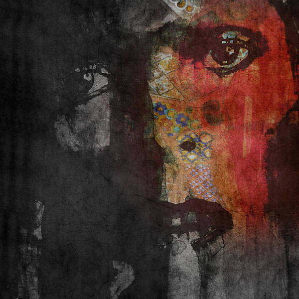 Bowie Painting - Jamming Good With Wierd And Gilly by Paul Lovering