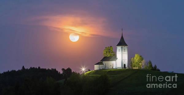 Meijer Wall Art - Photograph - Jamnik Church, Slovenia by Henk Meijer Photography