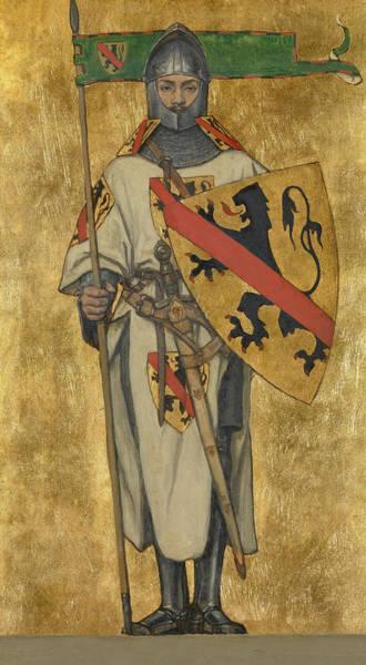 Nobility Painting - John I Of Namur by Albert De Vriendt