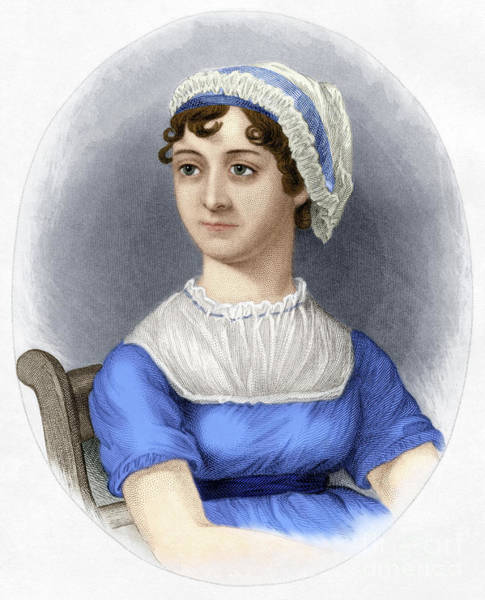Photograph - Jane Austen by Granger