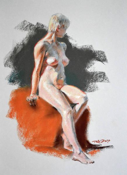 Painting - Jane Blonde by Christopher Reid