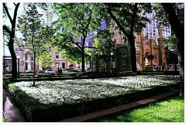 Photograph - Jane M. Byrne Plaza - City Of Chicago by Frank J Casella