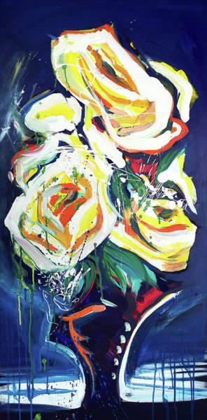 Painting - Janes Roses II by John Jr Gholson