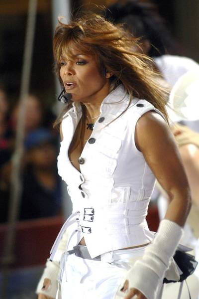 Center Stage Photograph - Janet Jackson On Stage For Janet by Everett