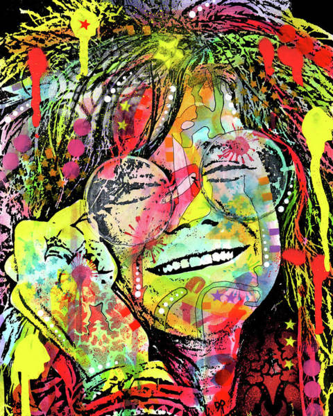 Wall Art - Painting - Janis by Dean Russo Art