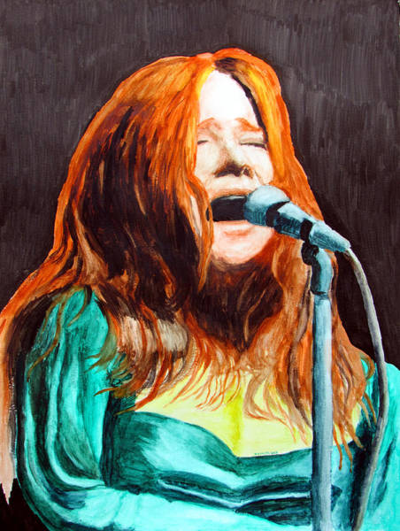 Wall Art - Painting - Janis by Ron Enderland